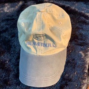 Beaverkill Baseball Cap Adjustable EUC Tan&Grey